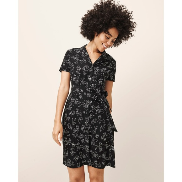 ae3d11586 a new day Dresses & Skirts - A New Day Abstract Face Dress
